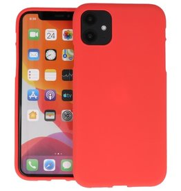 Color Backcover iPhone 11 Rood