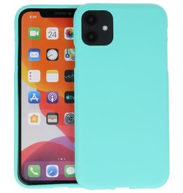 Color Backcover iPhone 11 Turquoise