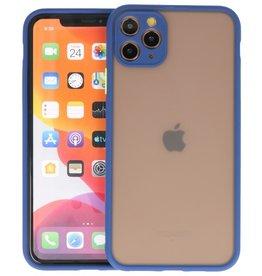 iPhone 11 Pro Max Hoesje Hard Case Backcover Telefoonhoesje Blauw