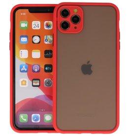 iPhone 11 Pro Max Hoesje Hard Case Backcover Telefoonhoesje Rood