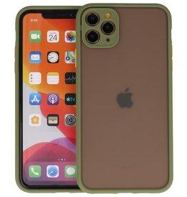 iPhone 11 Pro Max Hoesje Hard Case Backcover Telefoonhoesje Groen