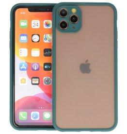 iPhone 11 Pro Max Hoesje Hard Case Backcover Telefoonhoesje Donker Groen