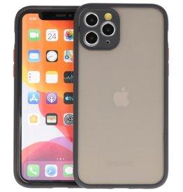 iPhone 11 Pro Hoesje Hard Case Backcover Telefoonhoesje Zwart