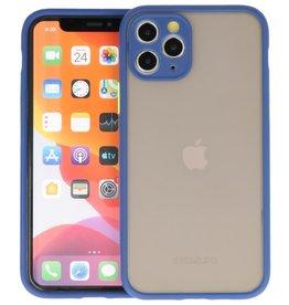 iPhone 11 Pro Hoesje Hard Case Backcover Telefoonhoesje Blauw