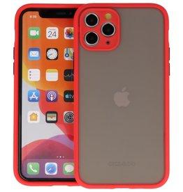 iPhone 11 Pro Hoesje Hard Case Backcover Telefoonhoesje Rood