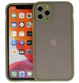 iPhone 11 Pro Hoesje Hard Case Backcover Telefoonhoesje Groen