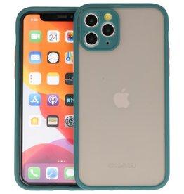 iPhone 11 Pro Hoesje Hard Case Backcover Telefoonhoesje Donker Groen