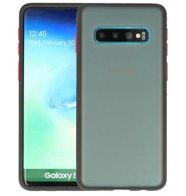 Kleurcombinatie Hard Case Samsung Galaxy S10 Zwart