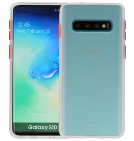 Kleurcombinatie Hard Case Samsung Galaxy S10 Transparant