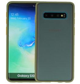 Samsung Galaxy S10 Hoesje Hard Case Backcover Telefoonhoesje Groen