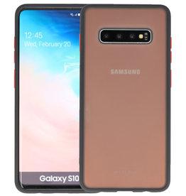 Kleurcombinatie Hard Case Samsung Galaxy S10 Plus Zwart