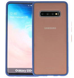 Kleurcombinatie Hard Case Samsung Galaxy S10 Plus Blauw