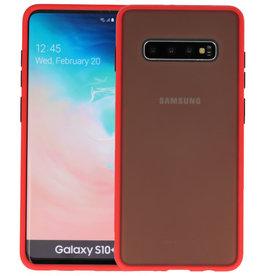 Kleurcombinatie Hard Case Samsung Galaxy S10 Plus Rood