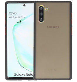 Kleurcombinatie Hard Case Samsung Galaxy Note 10 Zwart