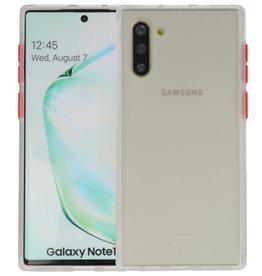 Samsung Galaxy Note 10 Hoesje Hard Case Backcover Telefoonhoesje Transparant