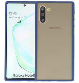 Kleurcombinatie Hard Case Samsung Galaxy Note 10 Blauw