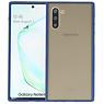 Samsung Galaxy Note 10 Hoesje Hard Case Backcover Telefoonhoesje Blauw