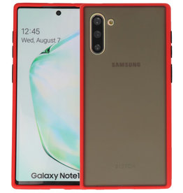 Kleurcombinatie Hard Case Samsung Galaxy Note 10 Rood