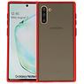 Samsung Galaxy Note 10 Hoesje Hard Case Backcover Telefoonhoesje Rood