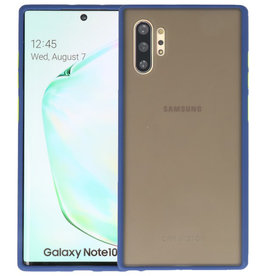 Kleurcombinatie Hard Case Samsung Galaxy Note 10 Plus Blauw
