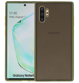 Kleurcombinatie Hard Case Samsung Galaxy Note 10 Plus Groen