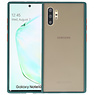Kleurcombinatie Hard Case Samsung Galaxy Note 10 Plus Donker Groen