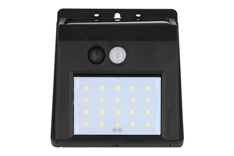 LED Wandlamp Op Zonne-Energie 20 Led