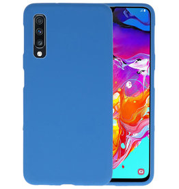 BackCover Hoesje Color Telefoonhoesje Samsung Galaxy A70s - Navy