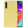 BackCover Hoesje Color Telefoonhoesje Samsung Galaxy A70s - Geel