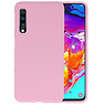 Color Backcover Samsung Galaxy A70s Roze