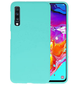 BackCover Hoesje Color Telefoonhoesje Samsung Galaxy A70s - Turquoise