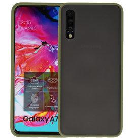 Samsung Galaxy A70 Hoesje Hard Case Backcover Telefoonhoesje Groen