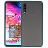 Samsung Galaxy A70 Hoesje Hard Case Backcover Telefoonhoesje Donker Groen