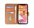 Bookstyle Wallet Cases Hoes voor iPhone 11 Bruin