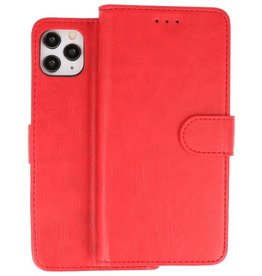 Bookstyle Wallet Cases Hoes iPhone 11 Pro Rood
