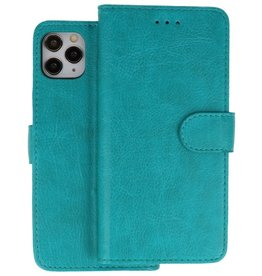 Bookstyle Wallet Cases Hoes iPhone 11 Pro Max Groen