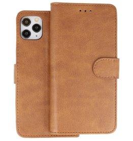 iPhone 11 Pro Max Hoesje Kaarthouder Book Case Telefoonhoesje Bruin