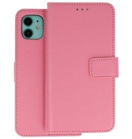 Wallet Cases Hoesje iPhone 11 Roze