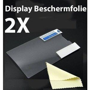 Samsung Galaxy Core II G355H Screenprotector Display Beschermfolie 2X