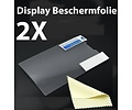 Samsung Galaxy S2 Screenprotector Display Beschermfolie 2X