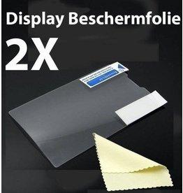 Samsung Galaxy S4 Mini Screenprotector Display Beschermfolie 2X