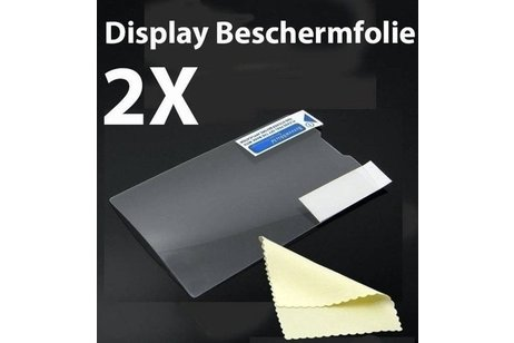Sony Xperia Z3 Compact / Mini Screenprotector Display Beschermfolie 2X