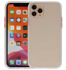 Kleurcombinatie Hard Case iPhone 11 Pro Transparant