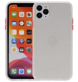Kleurcombinatie Hard Case iPhone 11 Pro Max Transparant