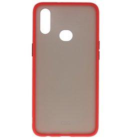 Kleurcombinatie Hard Case Samsung Galaxy A10s Rood