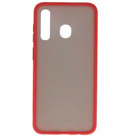 Kleurcombinatie Hard Case Samsung Galaxy A30 Rood
