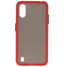 Samsung Galaxy A01 Hoesje Hard Case Backcover Telefoonhoesje Rood