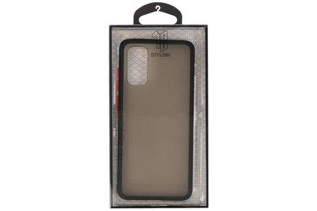 Kleurcombinatie Hard Case voor Samsung Galaxy S20 / 5G Zwart