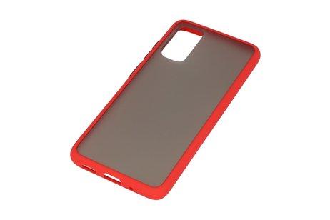 Kleurcombinatie Hard Case voor Samsung Galaxy S20 / 5G Rood