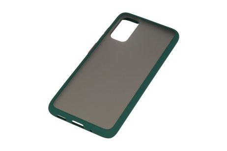 Kleurcombinatie Hard Case voor Samsung Galaxy S20 / 5G Donker Groen